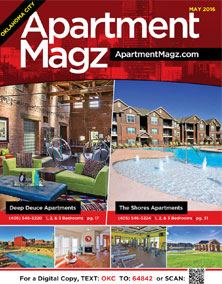 A sample image of the Apartment Magz magazine.