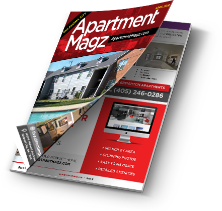 An image of the Apartment Magz magazine opening.
