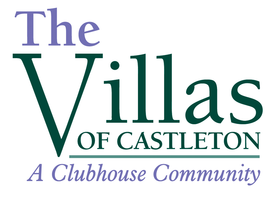 Villas of Castleton Logo