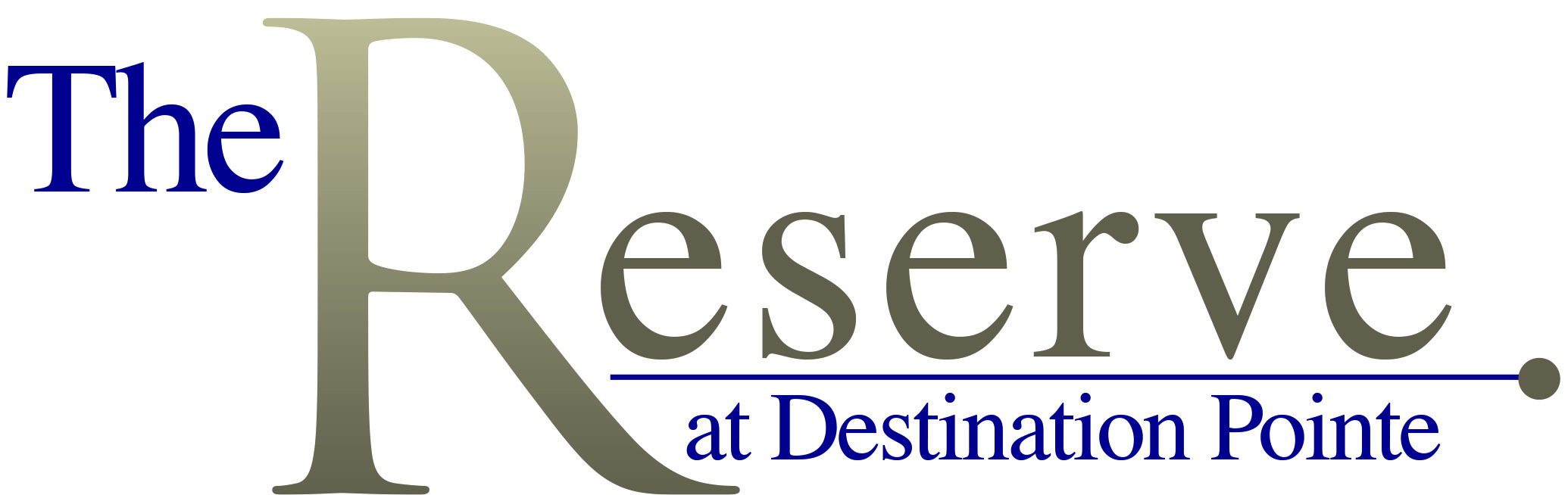 The Reserve at Destination Pointe Logo